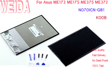 WEIDA N070ICN-GB1 LCD Display Replacement Parts For Asus ME173 ME175 ME375 ME372 /ME173 K00B 1280*800