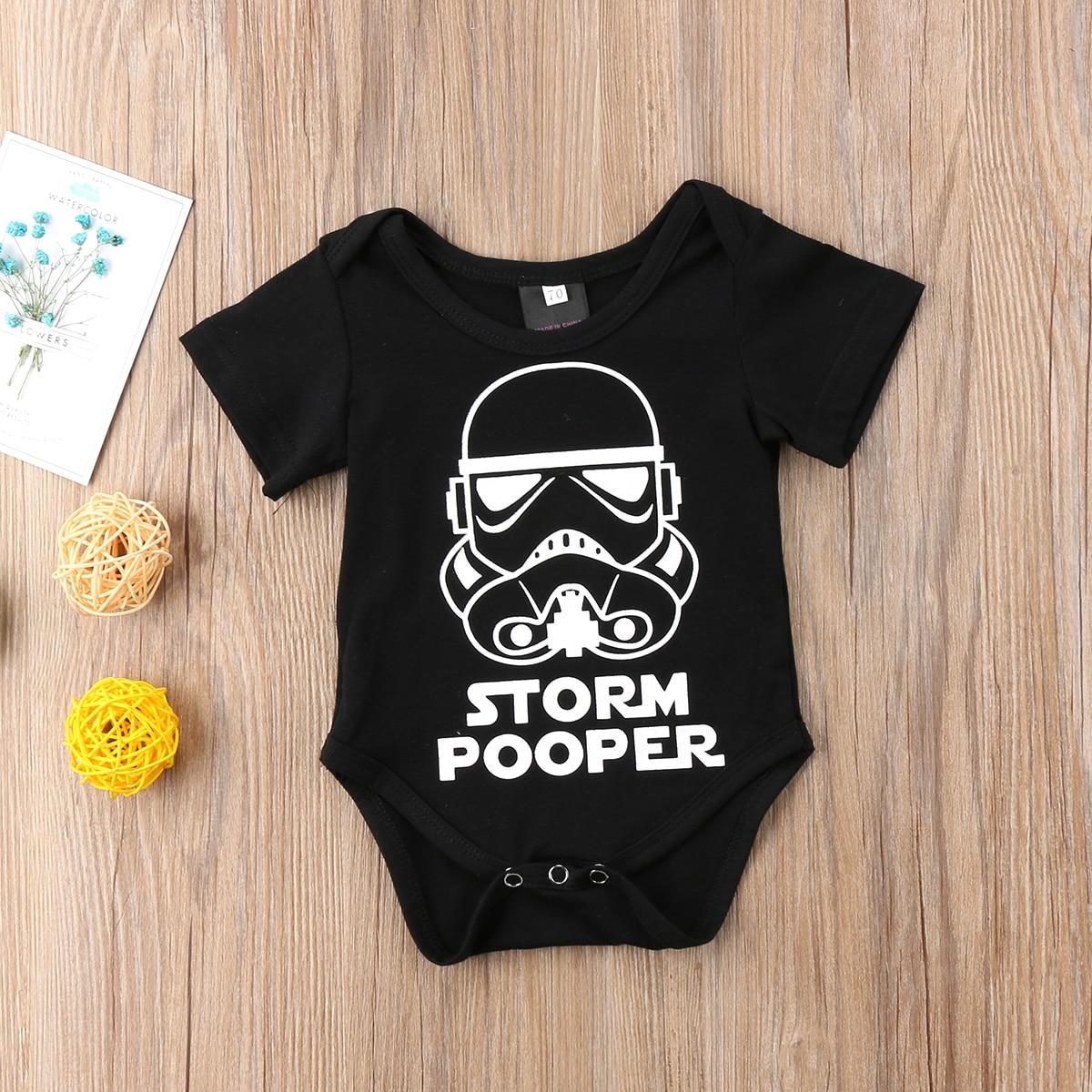 Star Wars Infant Newborn Baby Boy Girl Bodysuit Clothes ...