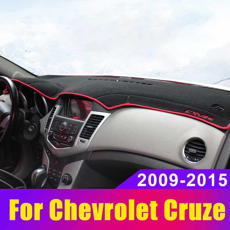 Car Dashboard Cover Mat Sun Shade Pad Instrument Panel Carpets Anti-UV For <font><b>Chevrolet</b></font> <font><b>Cruze</b></font> <font><b>2009</b></font> 2010 2011 2012 2013 <font><b>2014</b></font> 2015 image