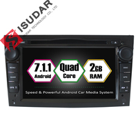 Dual Core 1 6G Two Din Android 7 Car DVD Player For OPEL ASTRA Antara Corsa