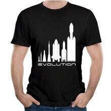 Space X T Shirt Elon Musk Casual Tesla Tees Fashion Nice Short-sleeved Top Design Popular Print T-Shirt Tee