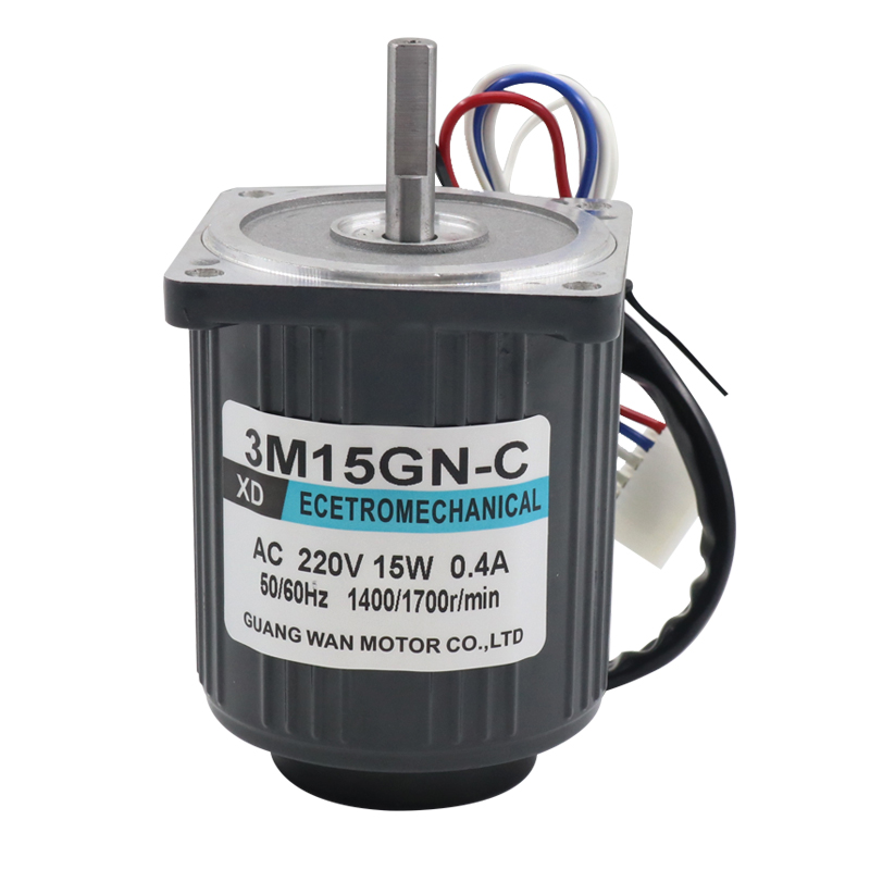 AC220V 50HZ 15W 1400/2800RPM Permanent Magnet Speed Control Motor Suitable for mechanical equipment, power tools,DIY power,etc. ac220v90w 0 500rpm 2m90gn c single phase speed decelerating gear motor suitable for mechanical equipment power tools diy etc