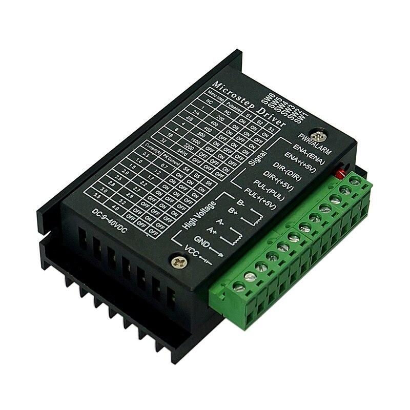 Фрезерный станок с ЧПУ, плата привода двигателя 42/57/86 TB6600 шаговый 32 этапа Модернизированная версия 4.0A 42VDC