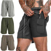 2019 Brand New Style Men's Summer Breathable Shorts Gym Spor