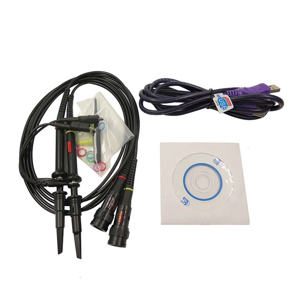 ISDS205A Dual Channel USB Digital Oscilloscop 20M Bandwidth 48M Sampling Spectrum Analyzer Data Recorder цены