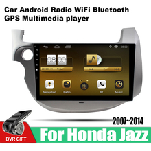 ZaiXi Android Car GPS Multimedia Player For Honda Jazz 2007~2014 car Navigation radio Video Audio Bluetooth