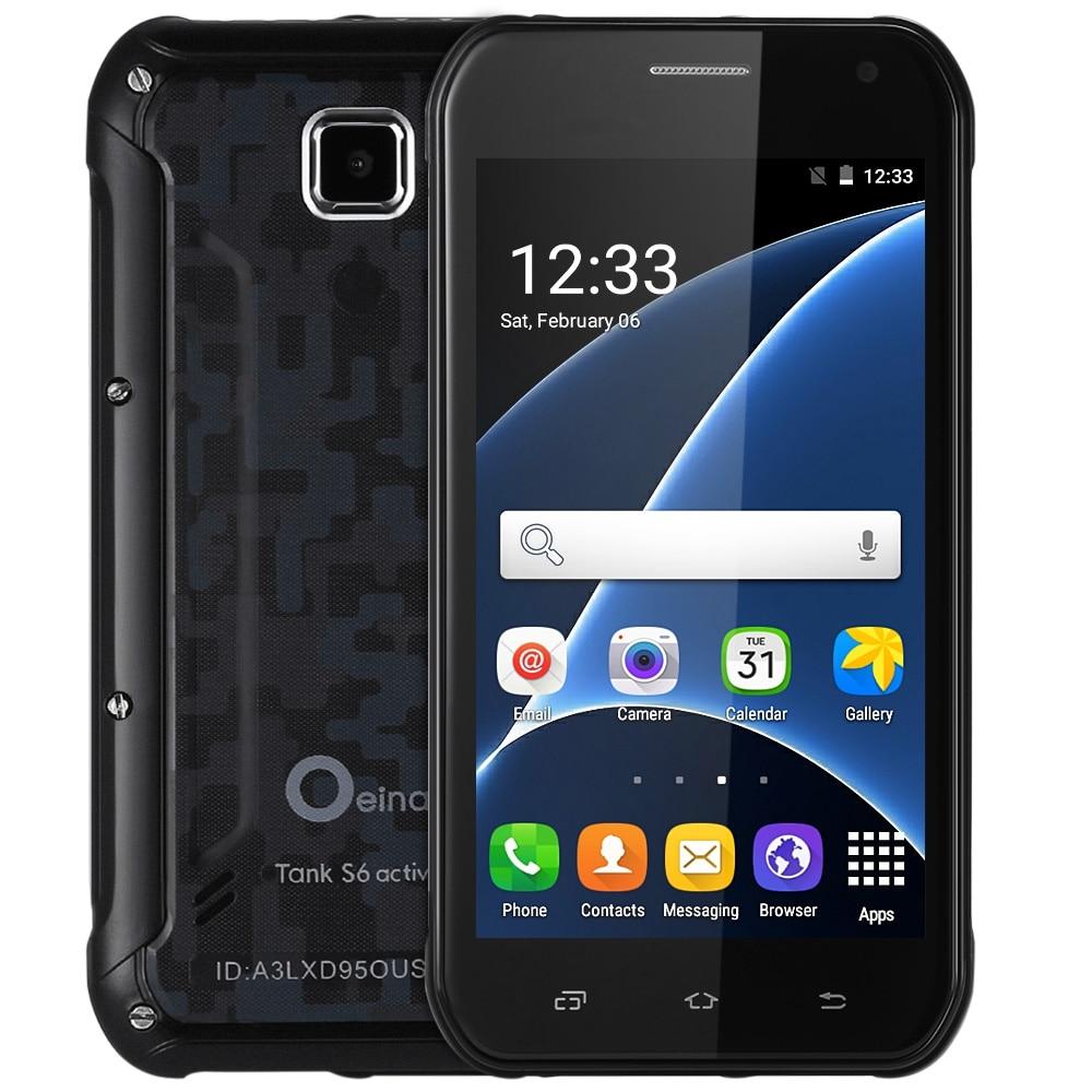 Original Oeina Tank S6 Android 5 1 5 0 inch 3G Smartphone MTK6580 1 3GHz Quad