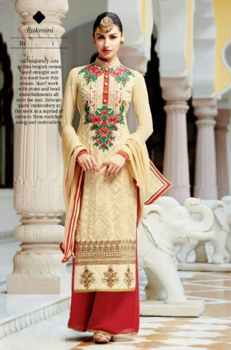 c3c29c21a56 Интернет-магазин Beige Salwar Kameez Embroidery Party Wedding Wear Pakistan  Salwar Tradittional Pakistani Kimora suits Red Pants with Dupatta