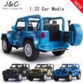 Hot New 1:32 camouflage Jeep Metal Alloy Diecast Toy Car Model Miniature Scale Model Sound and Light Emulation Electric Car