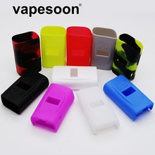 4pcs Colorful Protective Sleeve Cover Skin Silicone Case Silicon Cases for Sigelei kaos 214 Spectrum 230w Box Mod