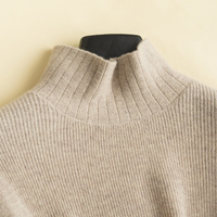 Women Sweaters 100% Pashmina Knitting Pullovers Winter New Arrival Soft and High Quality Pure Cashmere Jumpers Woman Clothes Top