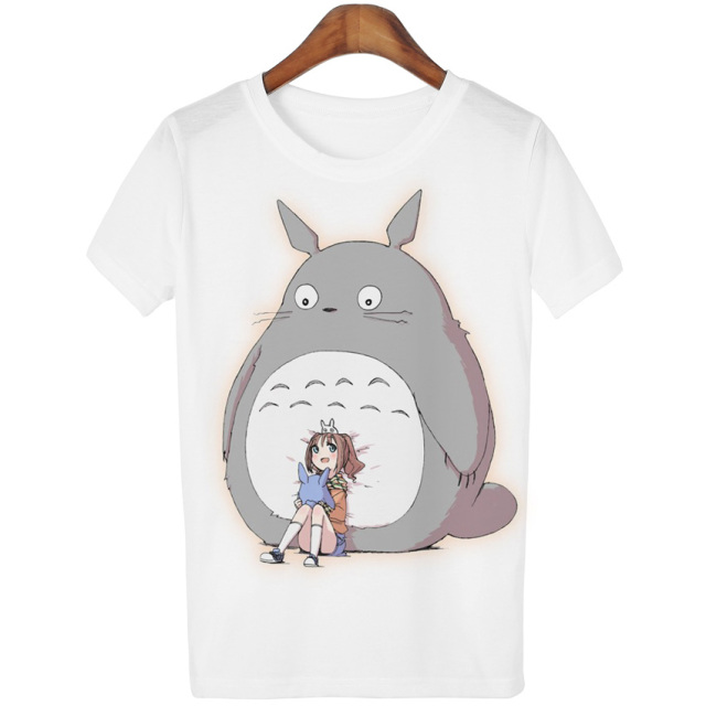 Totoro Casual Women T-shirt (14 styles)