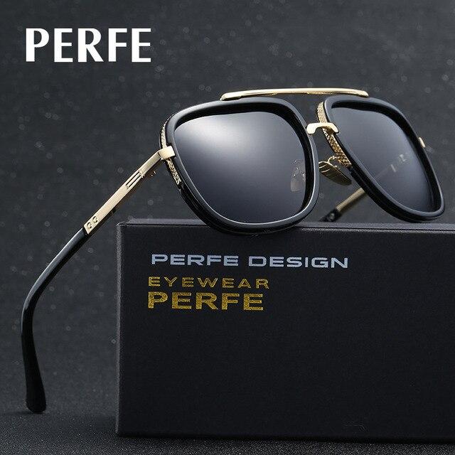 831eda4e42 PERFE Brand Men s Sunglasses Polarized Lens Driver Glasses Driving Fishing  Sunglass 2 Beams Eyewear Accessories For Men UV400