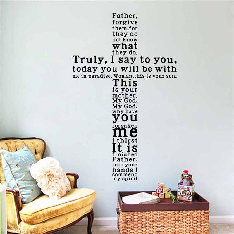 Spiritual quotes wall decor