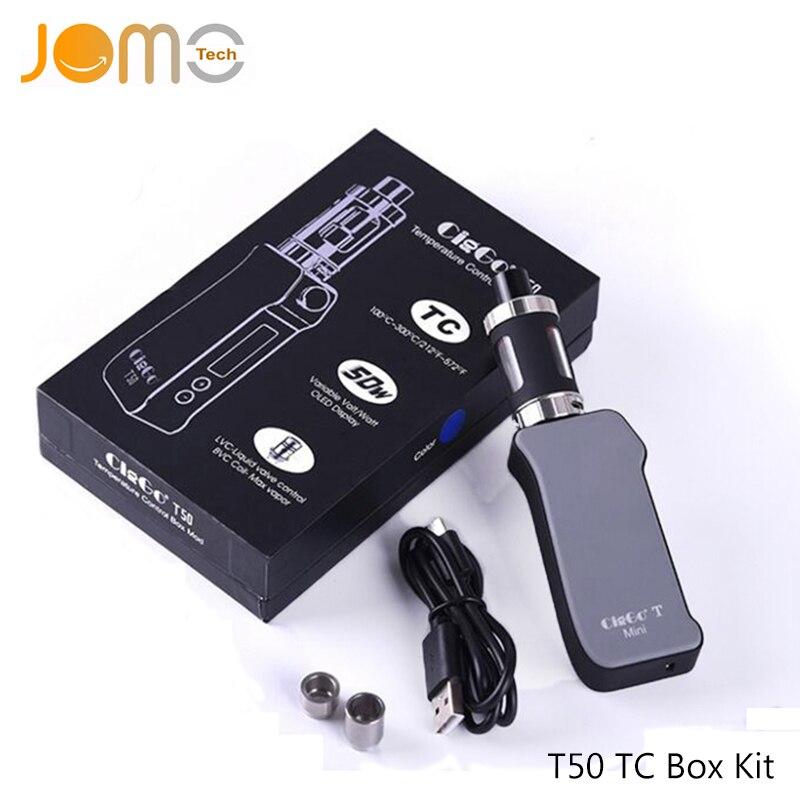 Royal 50 TC Box Mod Sub Ohm Kit Electronic Cigarette Mod Jomo 50w Vape Mod Kits