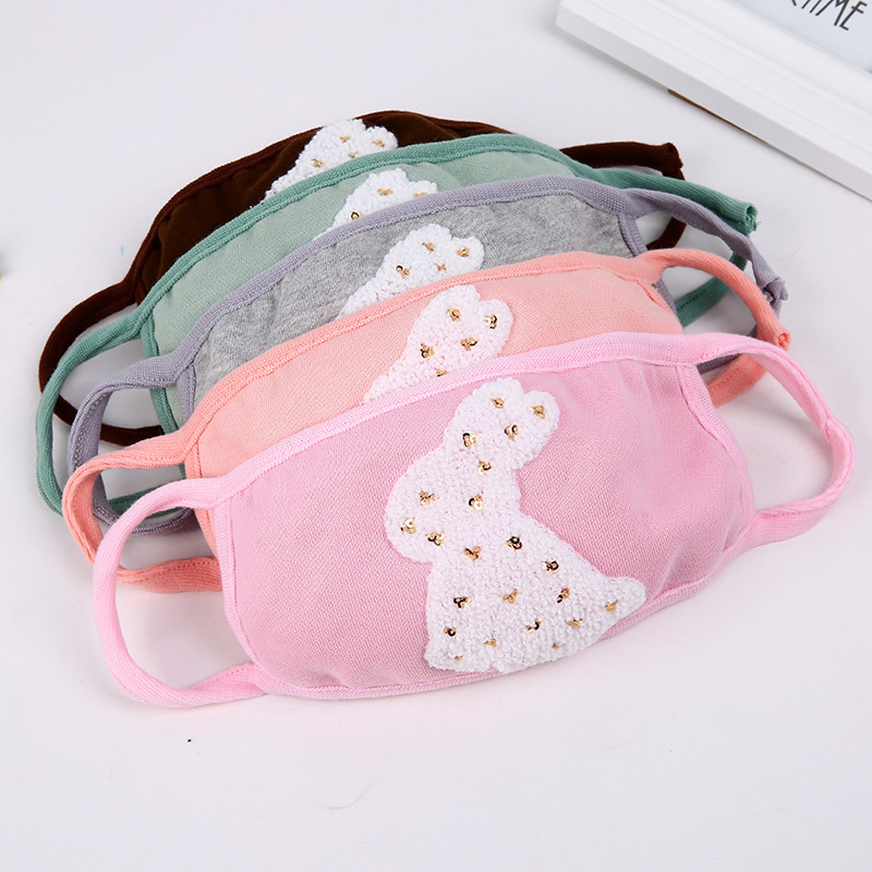 10pcs/Pack TT Fashion Mask Winter Warm Lady Mask Dust Proof Female Mask Thickening Mask Ms. Masken Thick Masks Wholesale