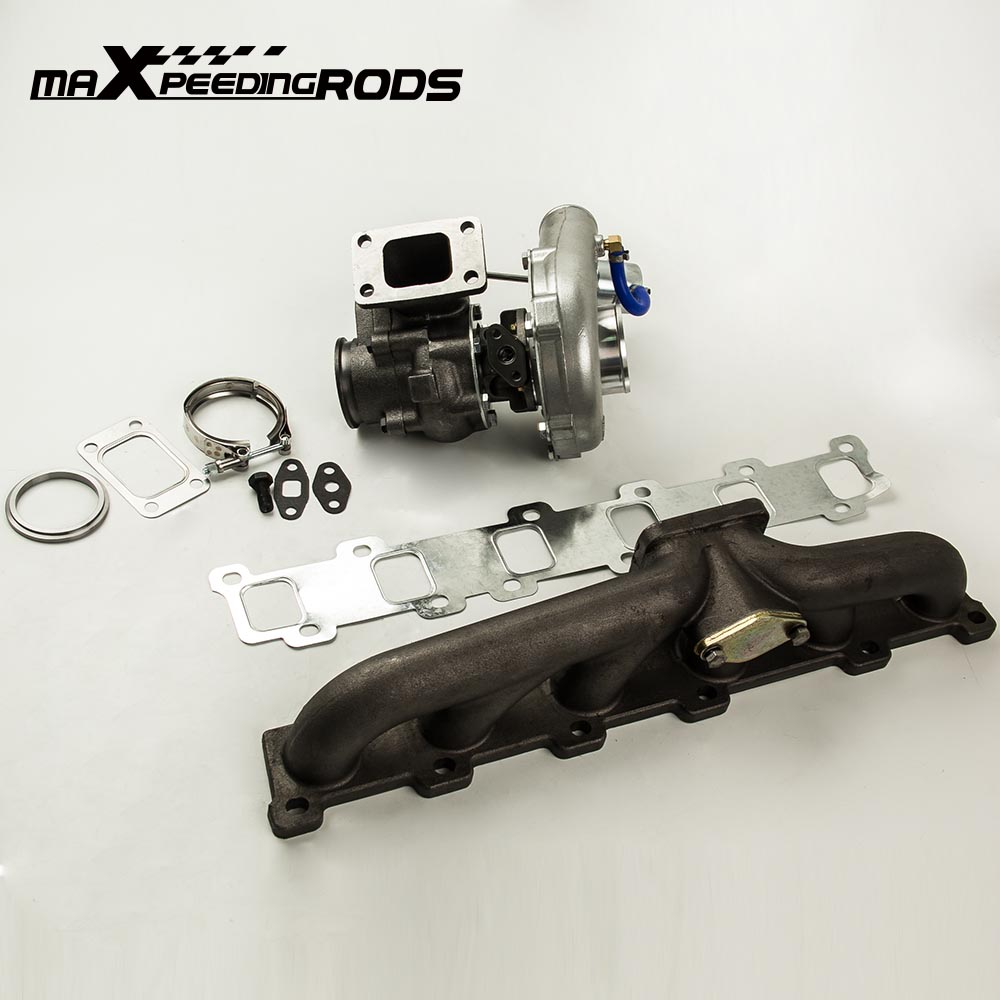maXpeedingrods Colector de salida de escape Turbocompresor TD42 TB42 Y60