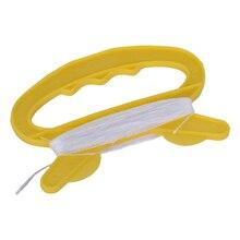 Барабанами летать d кайт линия плата профессиональные линии желтый форма ручки