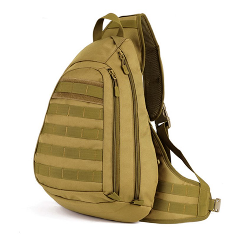 Outdoor Petto Borsa Camouflage Tattico Single One Sport Grande Viaggio Shoulder Black acu Da Imbracatura Zaino Pack Campo Man desert brown nf6EdIwxHq