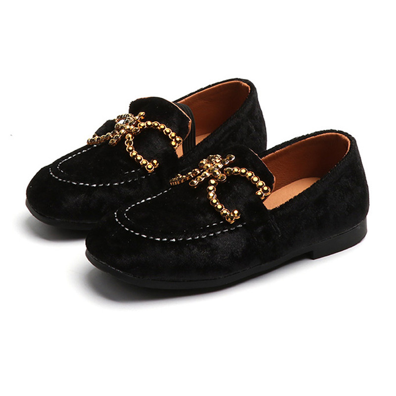 Mudibear Flat Girls Shoes For Children Boys Leather Shoes Kids Casual Shoes Loafers Moccasins Slip-on Anti-Slip chaussure enfant