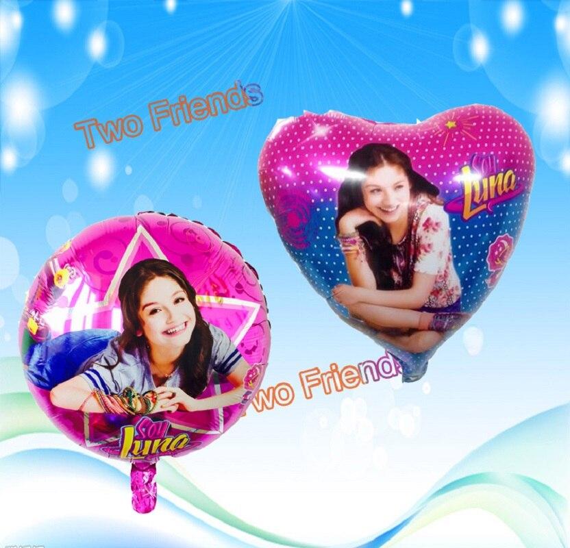 Соевый Luna фольгированные шары Luna тема партия украшение шар принцесса Globos 18 дюймов для девочек день рождения украшения 10 шт.