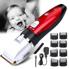 TOHUAN Household Hair Clipper Blade Trimmer Rechargeable Hair Cutting Shaving Machine Electric Hair Trimmers Shaver for Man 220V