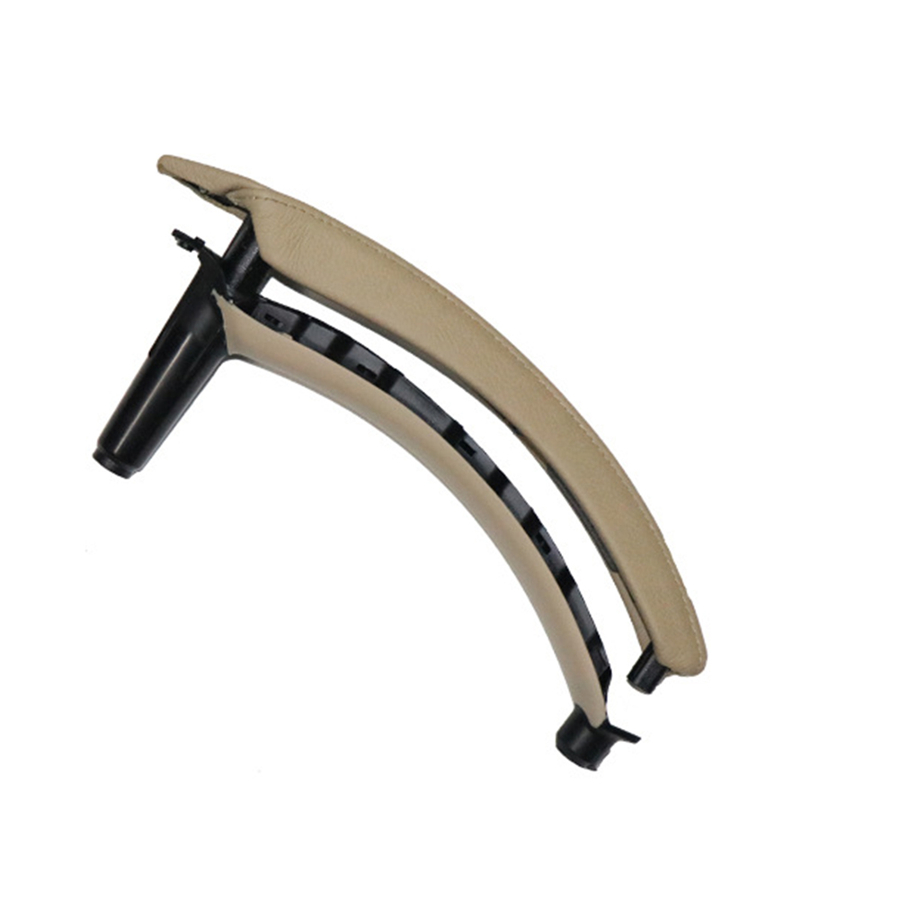 Car Front/&Rear Left Inner Door Panel Handle Pull Trim Cover For BMW E70 X5 X6