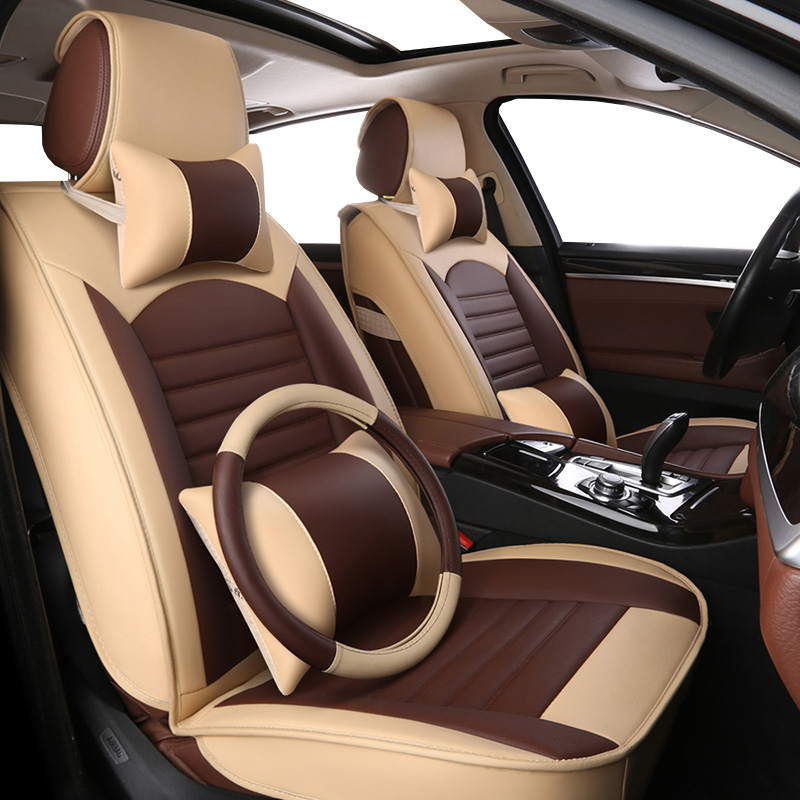 Высокое качество PU кожаные сиденья для volkswagen polo vw polo 6r 9n vw passat b5 passat b6 passat b7 b8 vw golf 5 Гольф 6 7