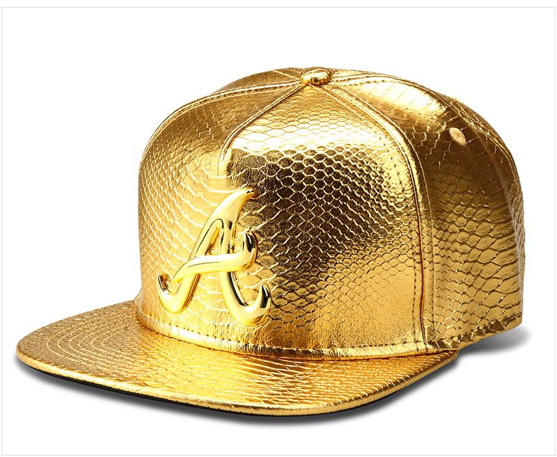 black snapback hat A_08