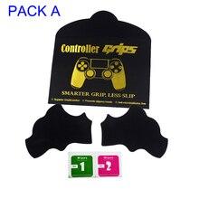 Controle para ps4 com aderência, joystick para controle de ps4, antiderrapante, com adesivo para lula de ps4, conjunto de joystick