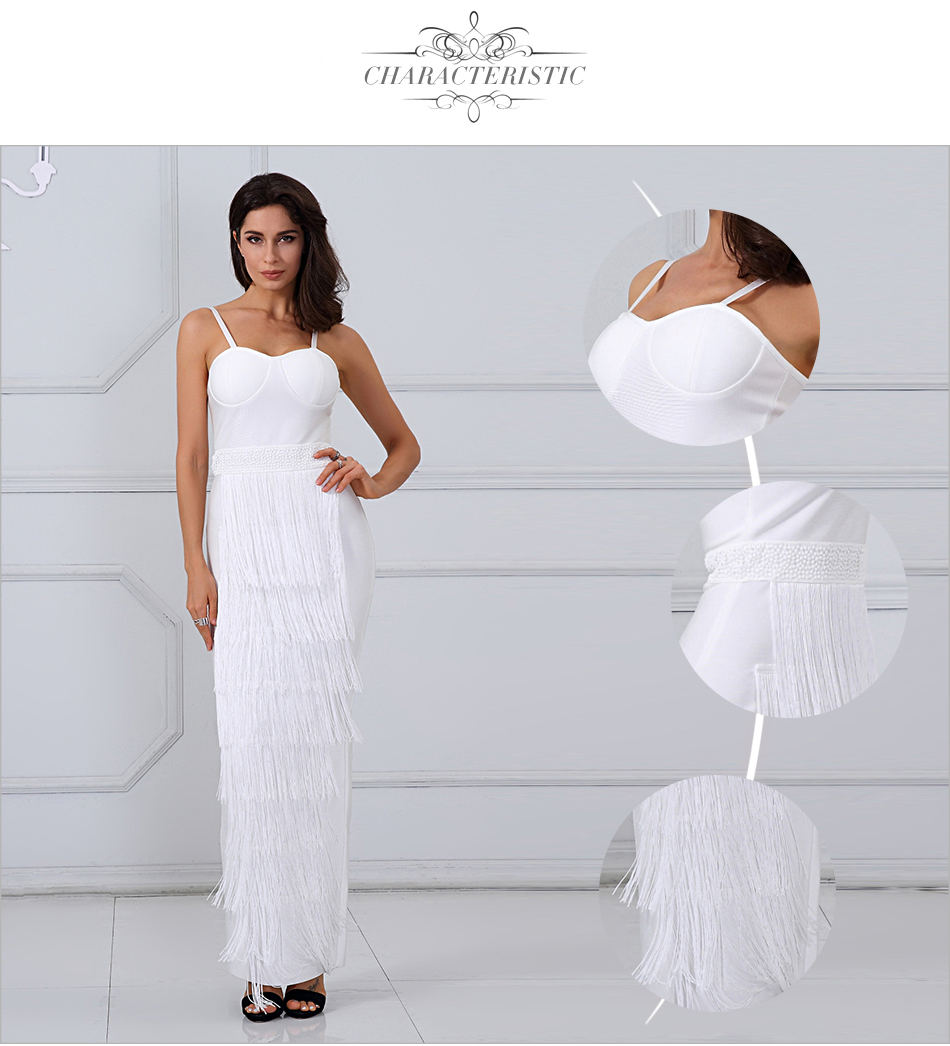 White Elegant Dresses Chic 4