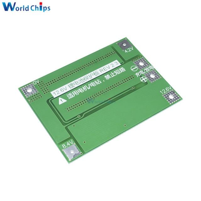 12.6V 13.6V Li-ion Lithium Battery Charger Protection Board 2