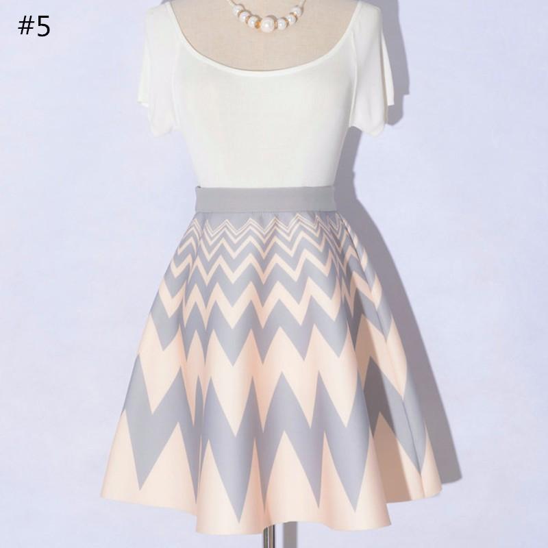 high waist skirt 07
