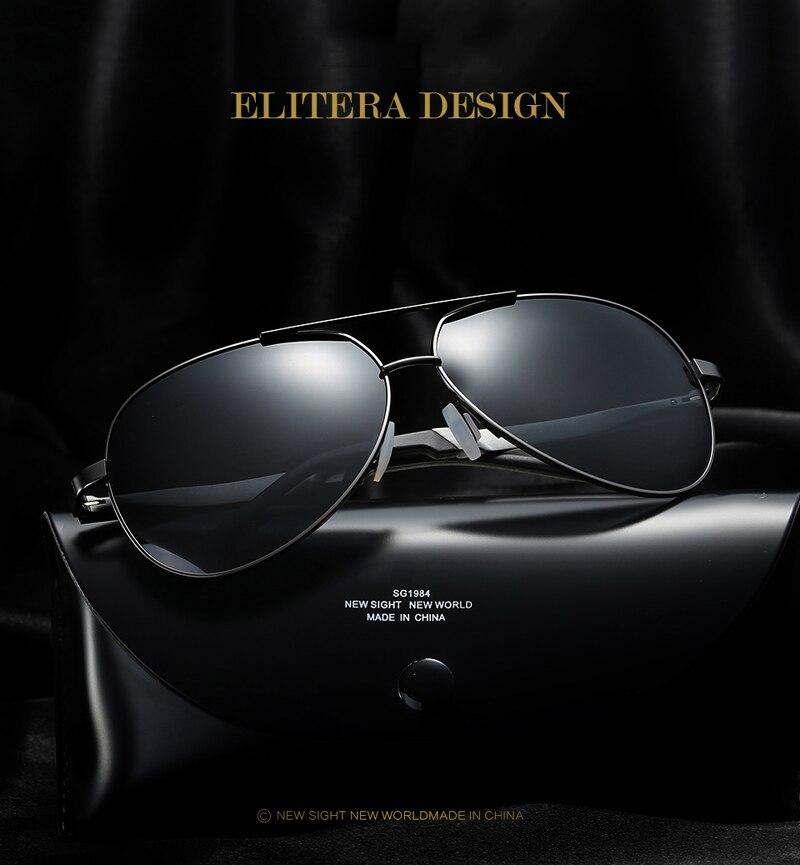 6d79885679 ELITERA Brand HD Polarized Sunglasses Men Male Sun Glasses Brand ...