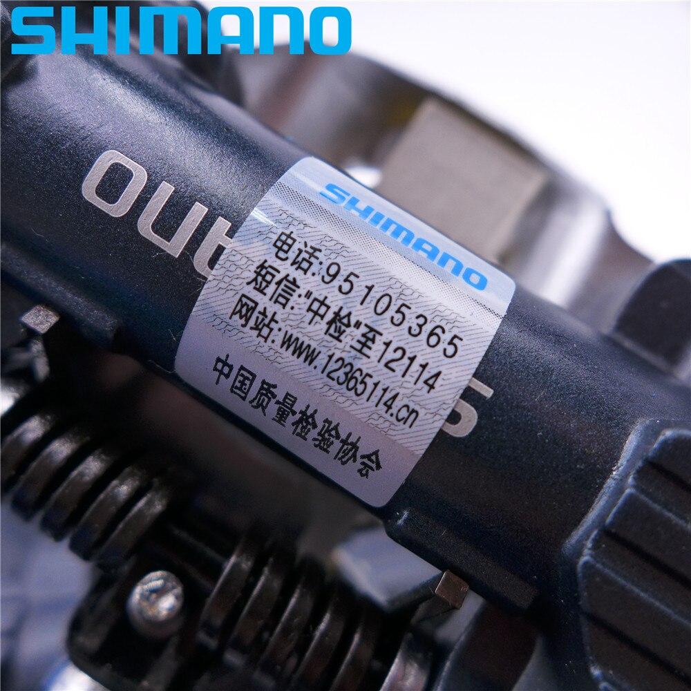 SHIMANO PD EH500 plate-forme double face/pédales SPD Clipless avec taquet SM-SH56 PD-EH500 d'origine - 6