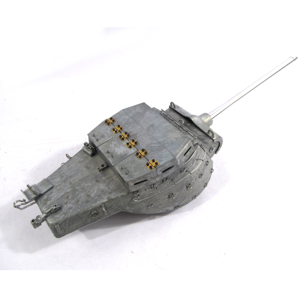 Mato Metal Turret 1/16 M36B1 Tank Destroyer Turret With Servo 100% Metal RC Tank Turret mato sherman tracks 1 16 1 16 t74 metal tracks