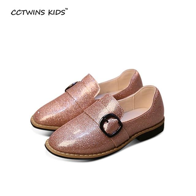 CCTWINS ДЕТИ весна осень baby boy марка искусственная кожа loafer для малыша детей мода квартиры девушка бренд розовый скольжения на