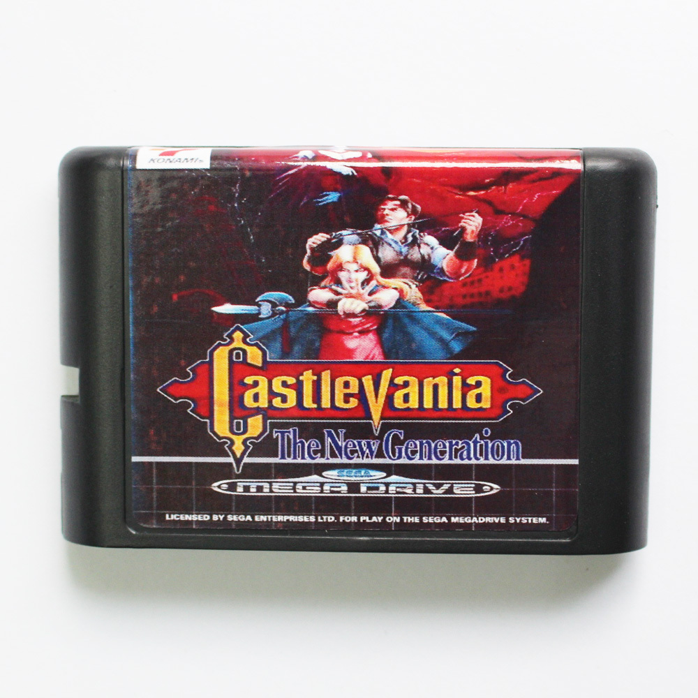 Castlevania The New Generation 16 bit MD Game Card For Sega Mega Drive For Genesis