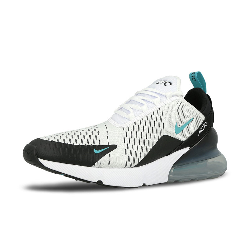 Nike Air Max 270 Running Shoes For Men Sport Outdoor Sneakers Yellow Black Red Comfortable Breathable Cushioning AH8050 006