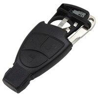 3 кнопки дистанционного Smart Key чехол с батареи клип с ключевыми таблеток брелок для Benz M S c e C CLS CLK ml SLK Uncut пустой
