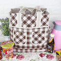Big Capacity Portable Insulated Canvas lunch Bag Thermal Food Picnic Lunch Bags for Women kids Men Cooler Lunch Box Bag