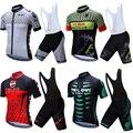 2020 pro gel pad radfahren jersey set männer kurze anzug fahrrad kleidung mtb bike kleidung maillot sport kleid outfit tragen team kit-in Fahrrad-Sets aus Sport und Unterhaltung bei