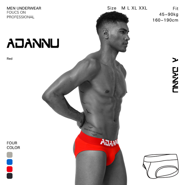 Sexy Gay underwear Sexy jockstrap gay penis Bolsa das UnderpantsMen Wonderjock bolsa tanga dos homens calças spandex Calcinhas AD103