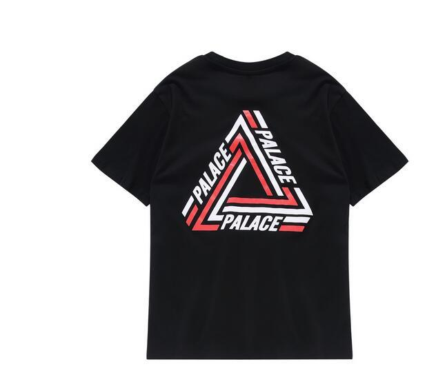 Sponge mice New fashion Summer Men T Shirt Hip Hop Style 100% Cotton Loose Short Sleeve Tops Tee High Quality PALACE Shirt