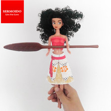 New 30cm Moana Princess Maui Waialik Heihei Adventure Pack Action Figure Toys For Gift D62