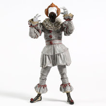 NECA de Stephen King é Pennywise Ultimate Dança Palhaço Ver. Collectible Toy Modelo Figura de Ação PVC com Luz LED(China)