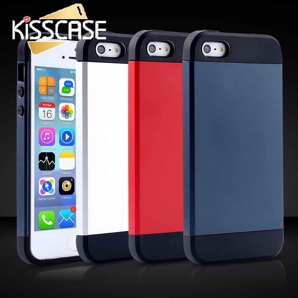 KISSCASE 4 4s Gel TPU + PC Back...