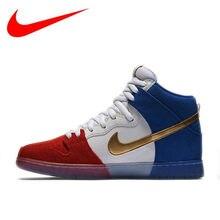 76eed6e4411 2018 Nike Dunk Alta Premium SB Skate Sapatos Respirável dos homens  Hard-wearing NIKE Esportes Tênis 313171-674
