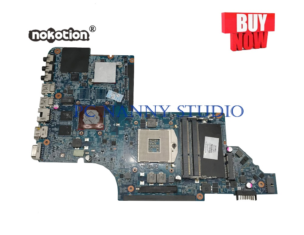 PCNANNY 659094-001 For hp dv7 DV7-6000 Laptop Motherboard HM65 DDR3 tested