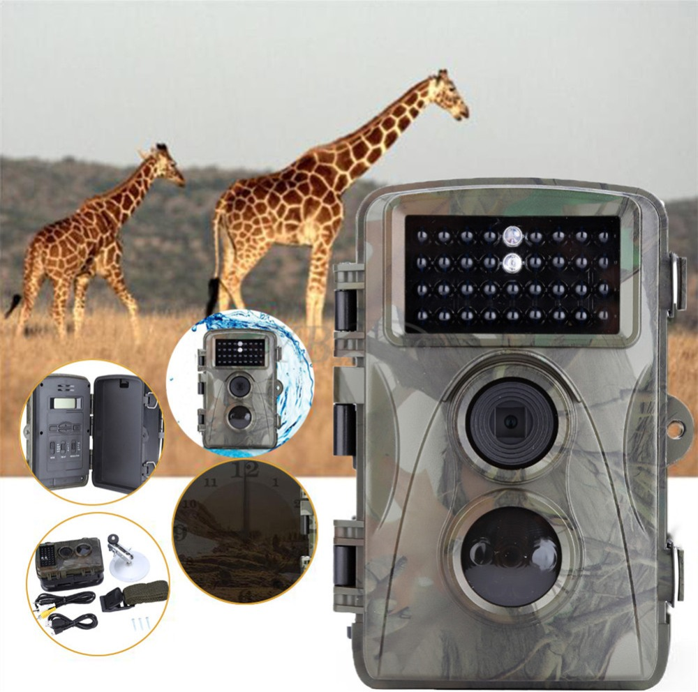 Photo Traps Hunting Camera Digital Video Recorder IR LED Hunting Video Recorder Camera Night Vision Scouting Trail Camera ltl acorn 5210a scouting hunting camera photo traps ir wildlife trail surveillance 940nm low glow 12mp